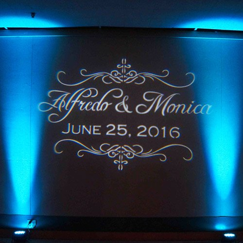 Toledo Custom Gobo Rental 1